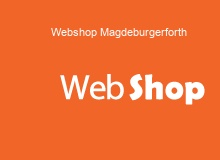 Webshop Erstellung in Magdeburgerforth