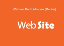 website Erstellung in BadBellingen(Baden)