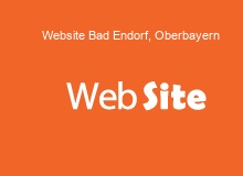 website Erstellung in BadEndorf,Oberbayern