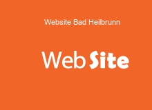 website Erstellung in BadHeilbrunn