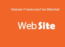 website Erstellung in FriedersdorfbeiBitterfeld