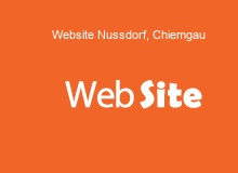 website Erstellung in Nussdorf,Chiemgau